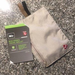 Accessories - REI RFID hidden travel wallet